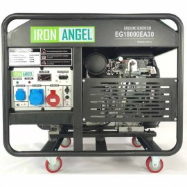 Генератор Iron Angel EG18000EA30   15/18 кВт (Нідерланди)