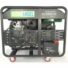 Генератор Iron Angel EG18000EA30 | 15/18 кВт (Нидерланды)