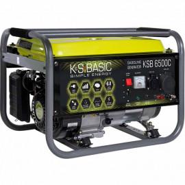 Генератор бензиновый Konner&Sohner KSB 6500C | 5/5,5 кВт (Германия)