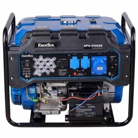 Генератор двухтопливный EnerSol EPG-5500SE| 5/5,5 кВт (Китай)