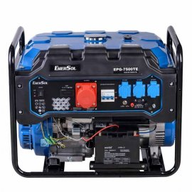 Генератор бензиновий EnerSol EPG-7500TE | 7/7,5 кВт (Китай)