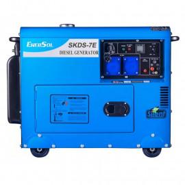 Генератор дизельний EnerSol SKDS-7EB | 6/6,5 кВт (Туреччина)