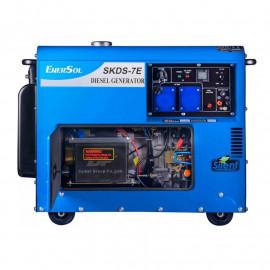 Генератор дизельный EnerSol SKDS-7EB | 6/6,5 кВт (Турция)