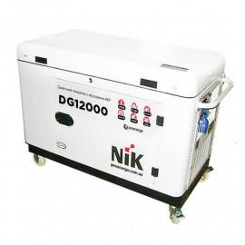 Генератор дизельный NiK DG 12000 ІІІ ф