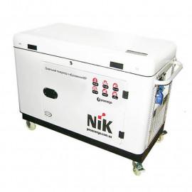 Генератор NiK DG 17000 ІІІ ф | 12/15 кВт (США)