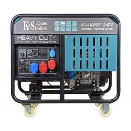 Генератор дизельный Konner&Sohnen KS 14100HDE 1/3 ATSR