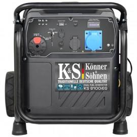 Генератор інверторний Konner&Sohner KS 8100iEG | 7,2/8 кВт (Німеччина)