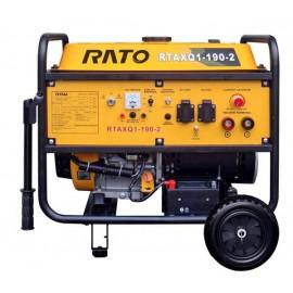 Генератор зварювальний Rato RTAXQ1-190-2 | 3,5 кВт (Китай)