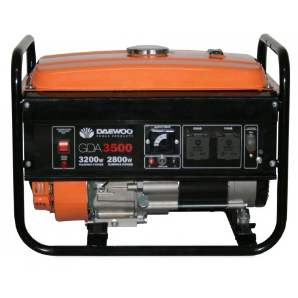Генератор Daewoo GDA 3500 | 2,8/3,2 кВт (Корея)