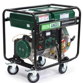 Генератор Iron Angel EGD 5000 CLE | 4,2/4,5 кВт (Нидерланды)