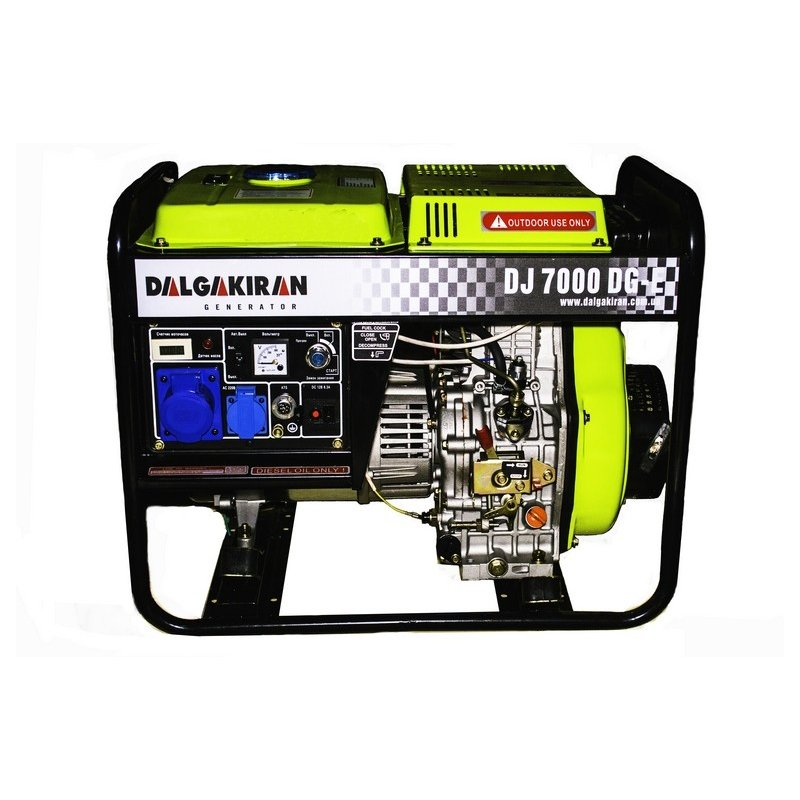 Генератор Dalgakiran DJ 7000 DG TE | 5,6/6,4 кВт (Туреччина)