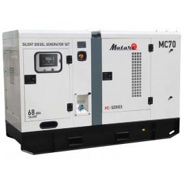 Генератор Matari MC70   68/75 кВт (Япония)