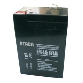 Аккумуляторная батарея ATABA AGM 6V 4Ah