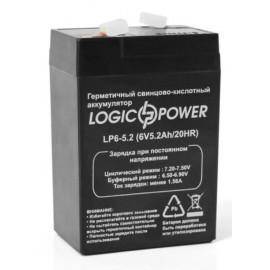 Аккумуляторная батарея LogicPower LP6-5.2 AH