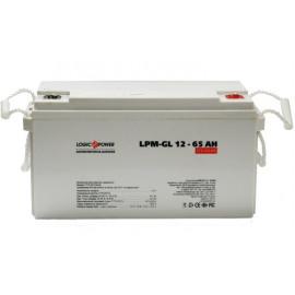 Аккумуляторная батарея LogicPower LPM-GL 12V 65AH