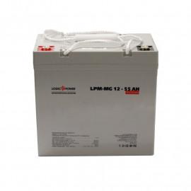 Аккумуляторная батарея LogicPower LPM-MG 12 - 55 AH