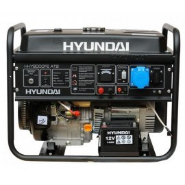 Генератор Hyundai HHY 9000 FE ATS | 6/6,5 кВт (Корея)