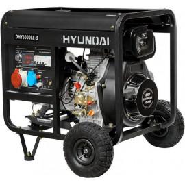 Генератор Hyundai DHY 6000 LE 3 | 5/5,5 кВт (Корея)