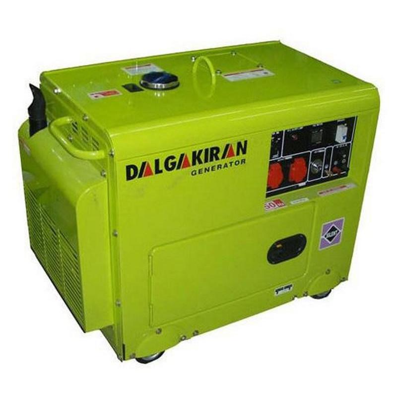 Генератор Dalgakiran DJ 4000 DG ECS   3,3/4 кВт (Турция)
