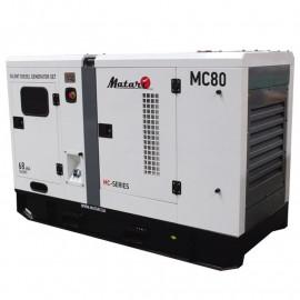 Генератор Matari MC 80 | 80/88 кВт (Япония)