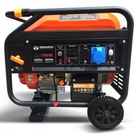 Генератор Daewoo GDA 7500 Е   6/6,5 кВт (Корея)