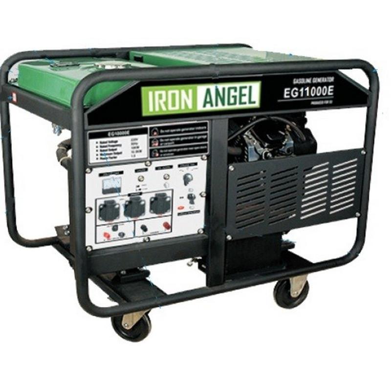 Генератор IRON ANGEL EG 11000 E | 10/11 кВт (Нидерланды)
