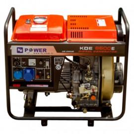 Генератор KJ Power KDE 6500 Е | 5/5,5 кВт (Турция)
