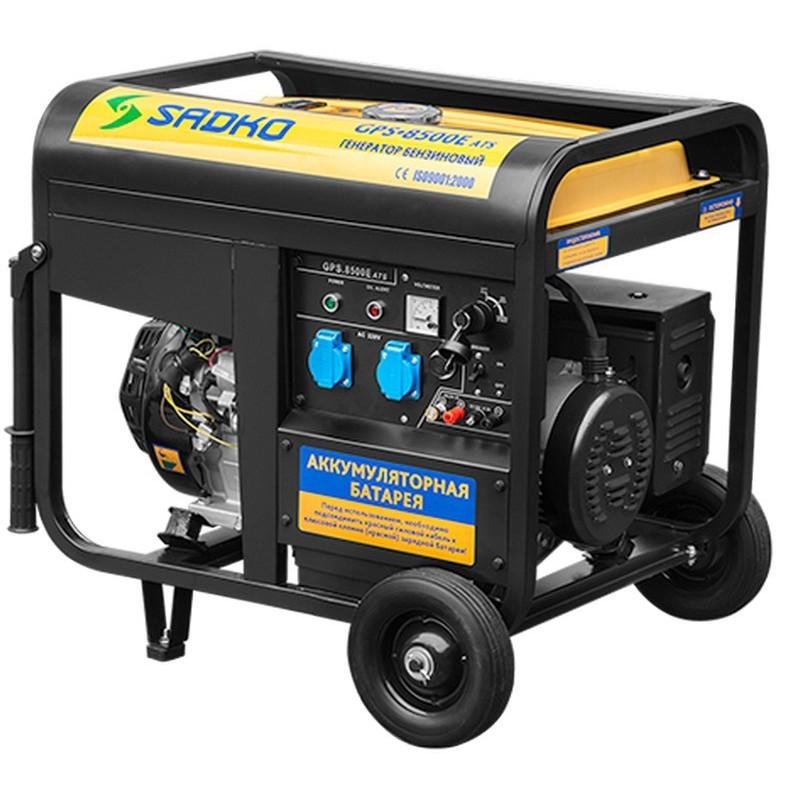 Генератор Sadko GPS-8500E ATS | 7/7,5 кВт (Словенiя)