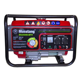 Генератор Musstang MG2500K-BF/V BG   2,5/2,8 кВт (Китай)