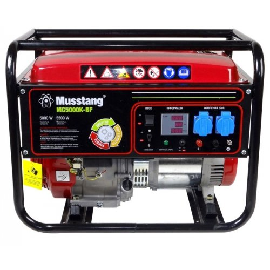 Генератор Musstang MG5000K-BF - BG   5/5,5 кВт (Китай)