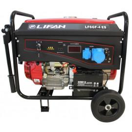 Генератор Lifan LF6GF-4ES | 6/6,5 кВт (Китай)