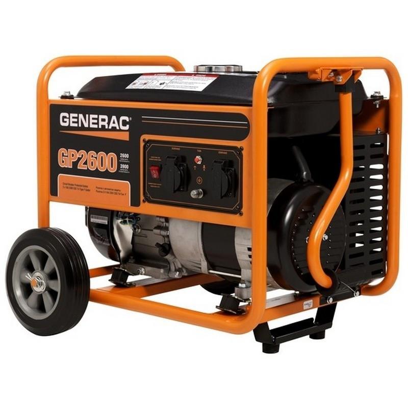 Генератор Generac GP2600   3/3,5 кВт (США)