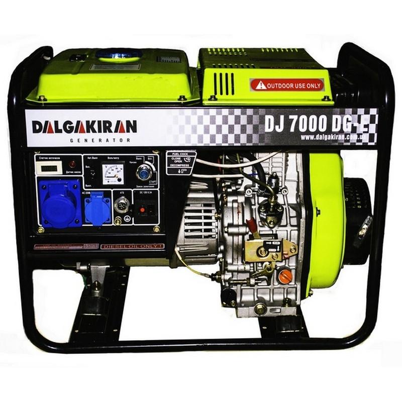 Генератор Dalgakiran DJ 7000 DG E   6/7 кВт (Туреччина)