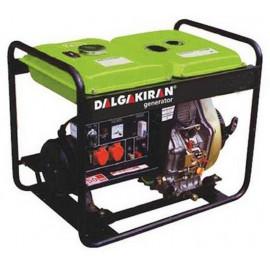 Генератор Dalgakiran DJ 4000 DG E | 3,3/4 кВт (Турция)