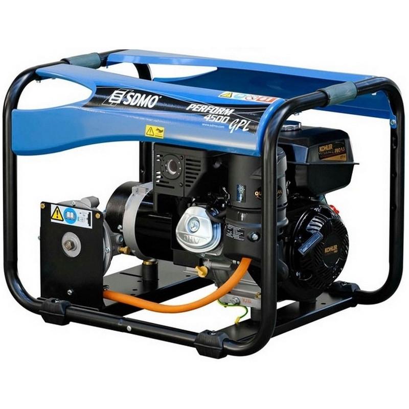 Генератор SDMO Perform 4500 GAZ | 3,6/3,9 кВт (Франция)