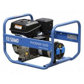 Генератор SDMO Phoenix 4200 | 3,8/4,2 кВт (Франция)