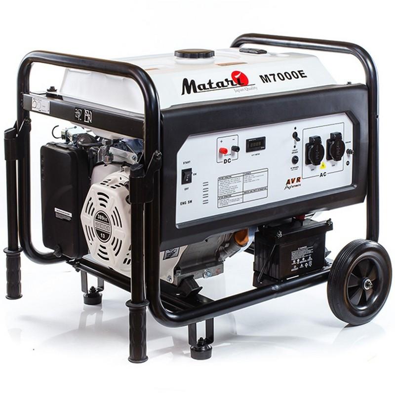 Генератор Matari M 7000 E ATS| 5/5,5 кВт (Японія)