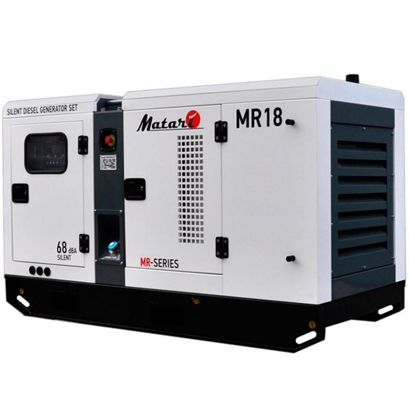 Генератор Matari MR 18| 18/20 кВт (Япония)