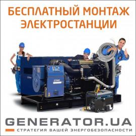 Бесплатный монтаж электростанции