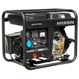 Генератор зварювальний Hyundai DHYW 190 AC | 5/5,5 кВт (Корея)