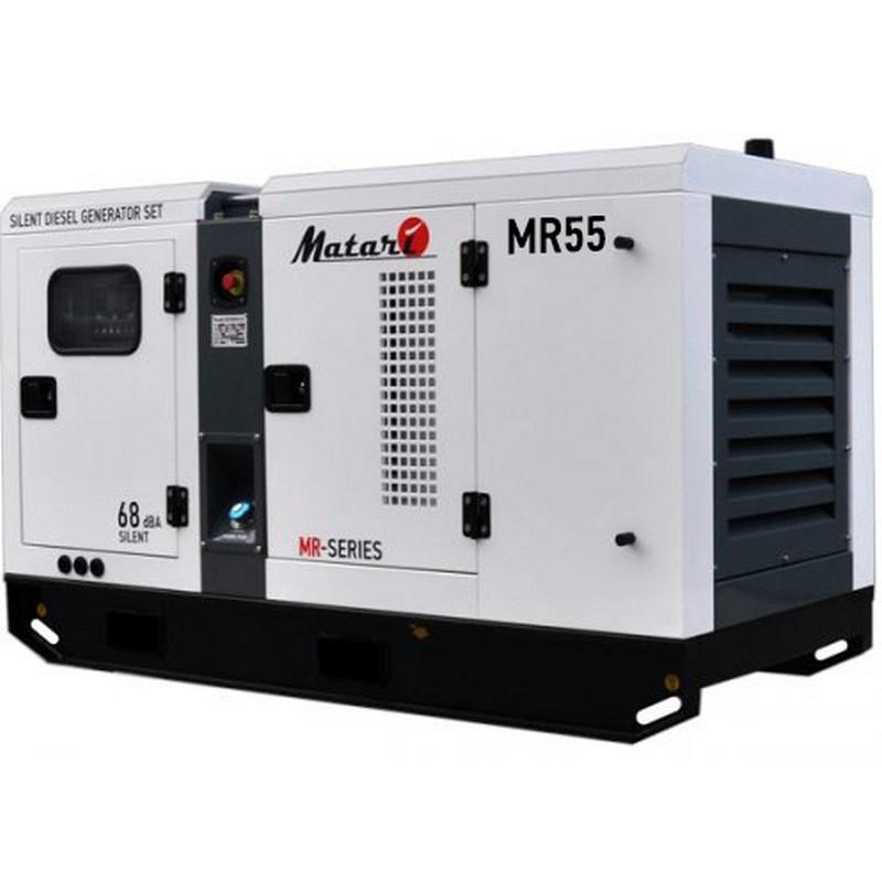 Генератор Matari MR 55  53/58 кВт (Япония)