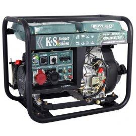 Генератор Konner&Sohnen 9000HDE-1/3 ATS | 5,0/6,8 кВт (Германия)