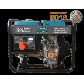 Генератор Konner&Sohnen 8000DE-3 | 6/6,5 кВт (Германия)