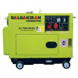 Генератор Dalgakiran DJ 7000 DG EC | 7/8 кВт (Турция)