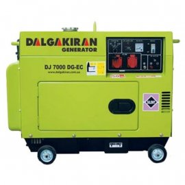Генератор Dalgakiran DJ 7000 DG TECS | 7/8 кВт (Турция)