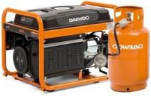 Двопаливні генератори (газ/бензин)