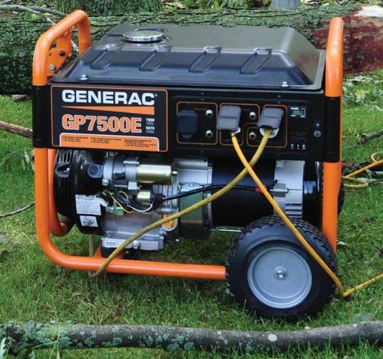 электростанции Generac